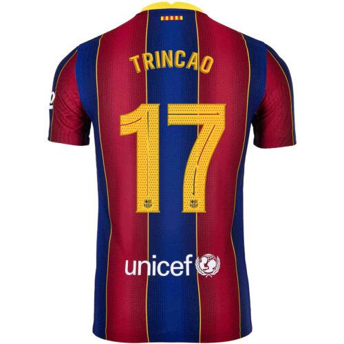 2020/21 Nike Francisco Trincao Barcelona Home Match Jersey