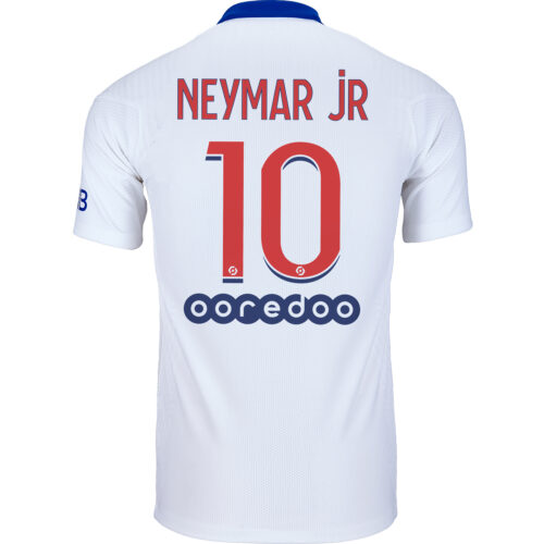 2020/21 Nike Neymar Jr PSG Away Match Jersey