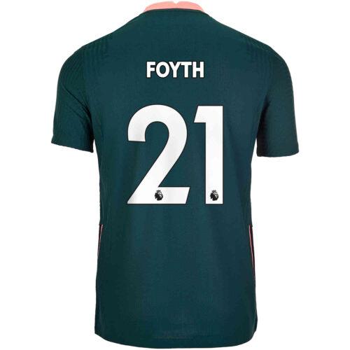 2020/21 Nike Juan Foyth Tottenham Away Match Jersey