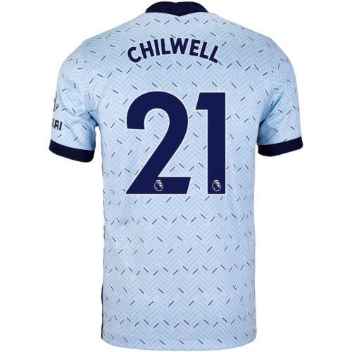 2020/21 Nike Ben Chilwell Chelsea Away Jersey