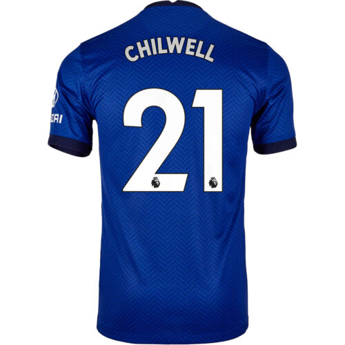 2020/21 Nike Ben Chilwell Chelsea Home Jersey
