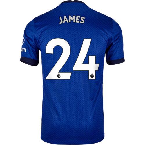 2020/21 Nike Reece James Chelsea Home Jersey