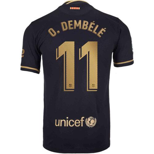 2020/21 Nike Ousmane Dembele Barcelona Away Jersey