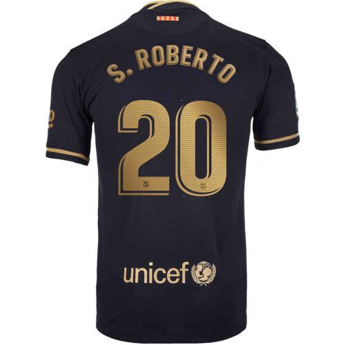 2020/21 Nike Sergi Roberto Barcelona Away Jersey