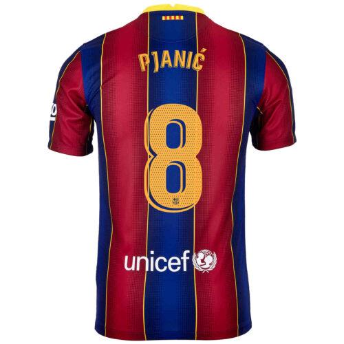 2020/21 Nike Miralem Pjanic Barcelona Home Jersey