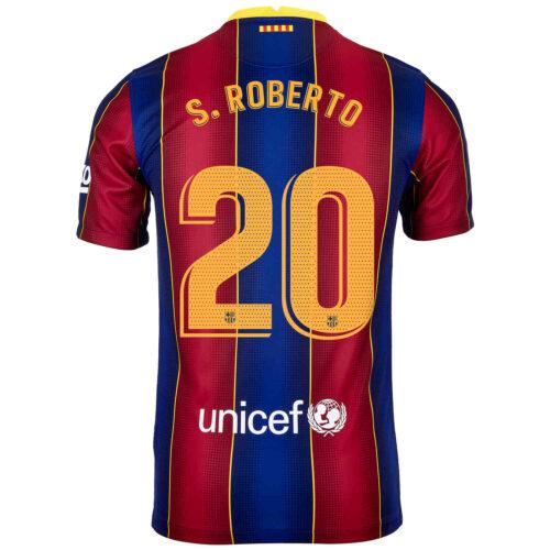 2020/21 Nike Sergi Roberto Barcelona Home Jersey