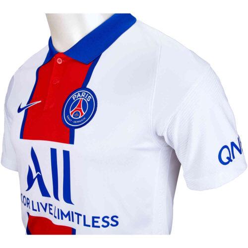 2020/21 Nike Kylian Mbappe PSG Away Jersey