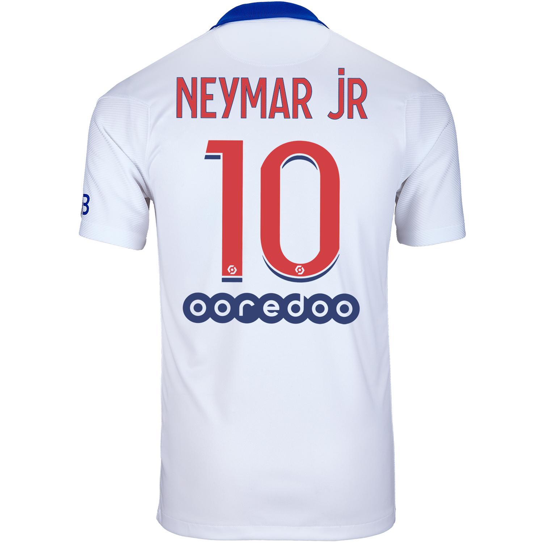 2020/21 Nike Neymar Jr PSG Away Jersey - SoccerPro