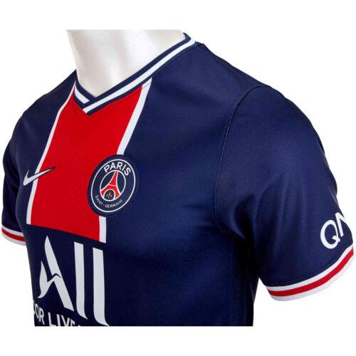 2020/21 Nike Kylian Mbappe PSG Home Jersey