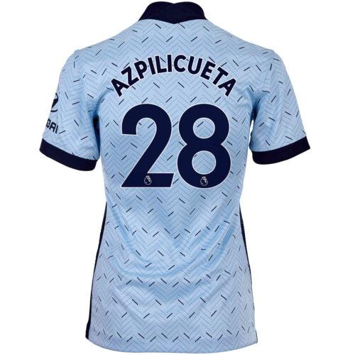 2020/21 Womens Nike Cesar Azpilicueta Chelsea Away Jersey