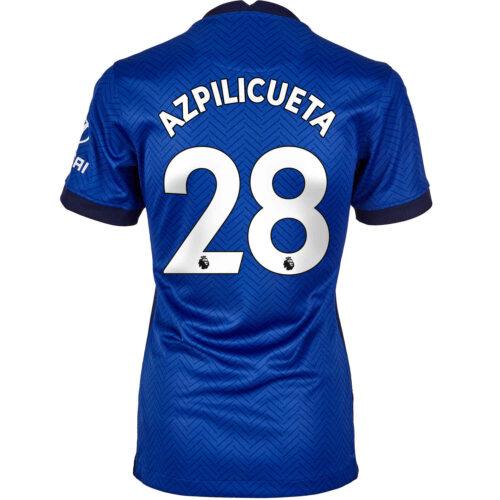 2020/21 Womens Nike Cesar Azpilicueta Chelsea Home Jersey