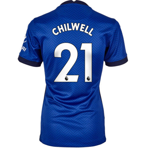 2020/21 Womens Nike Ben Chilwell Chelsea Home Jersey