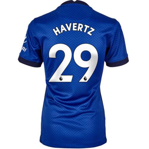 2020/21 Womens Nike Kai Havertz Chelsea Home Jersey