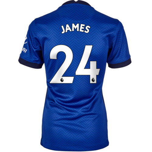 2020/21 Womens Nike Reece James Chelsea Home Jersey