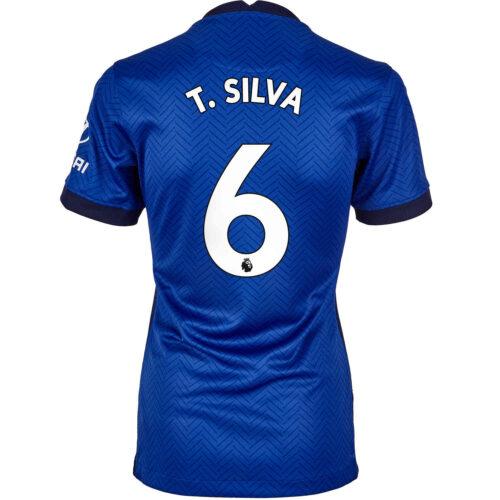 2020/21 Womens Nike Thiago Silva Chelsea Home Jersey