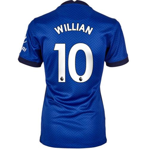 2020/21 Womens Nike Willian Chelsea Home Jersey