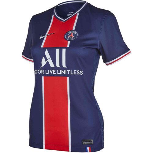 2020/21 Womens Nike Neymar Jr PSG Home Jersey