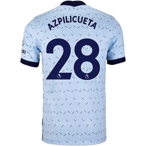 2020/21 Kids Nike Cesar Azpilicueta Chelsea Away Jersey