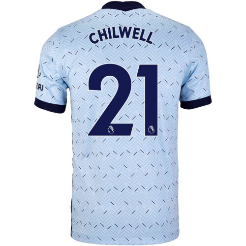 2020/21 Kids Nike Ben Chilwell Chelsea Away Jersey