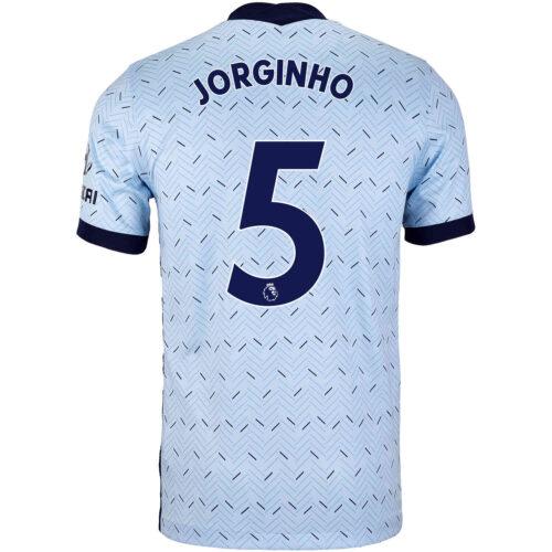 2020/21 Kids Nike Jorginho Chelsea Away Jersey