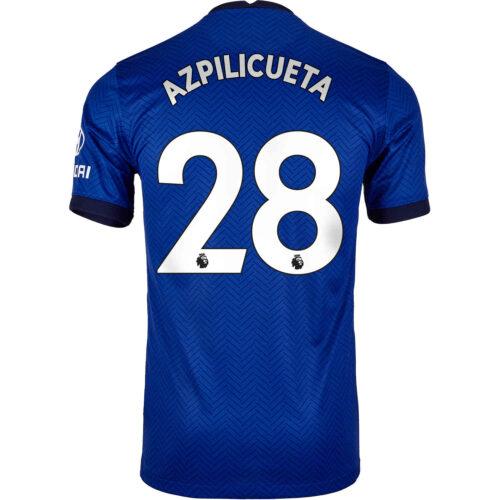 2020/21 Kids Nike Cesar Azpilicueta Chelsea Home Jersey