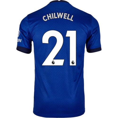 2020/21 Kids Nike Ben Chilwell Chelsea Home Jersey