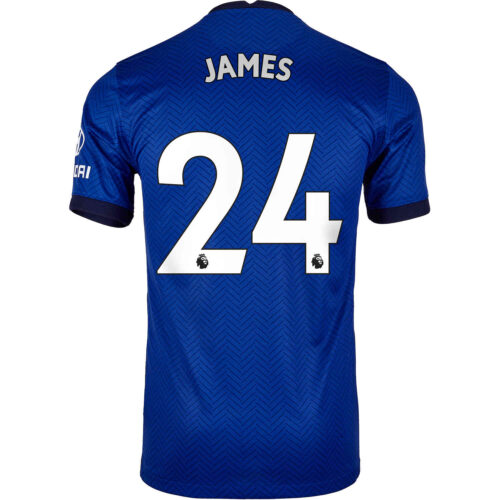 2020/21 Kids Nike Reece James Chelsea Home Jersey