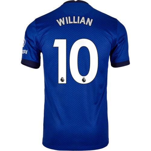 2020/21 Kids Nike Willian Chelsea Home Jersey