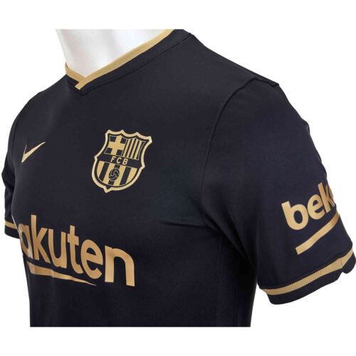 2020/21 Kids Nike Lionel Messi Barcelona Away Jersey