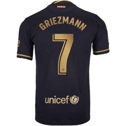2020/21 Kids Nike Antoine Griezmann Barcelona Away Jersey