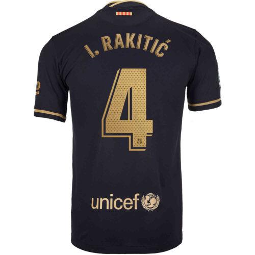 2020/21 Kids Nike Ivan Rakitic Barcelona Away Jersey