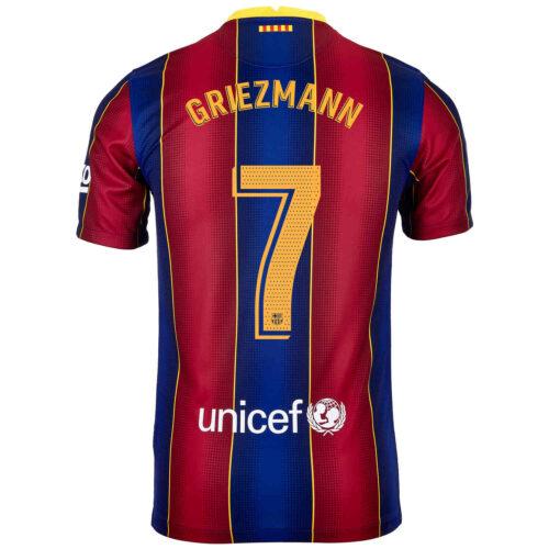 2020/21 Kids Nike Antoine Griezmann Barcelona Home Jersey