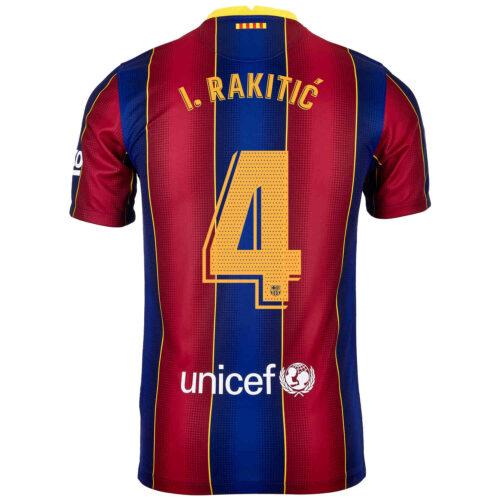 2020/21 Kids Nike Ivan Rakitic Barcelona Home Jersey