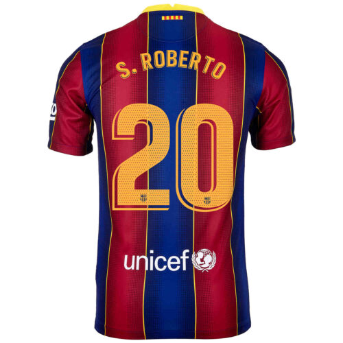 2020/21 Kids Nike Sergi Roberto Barcelona Home Jersey