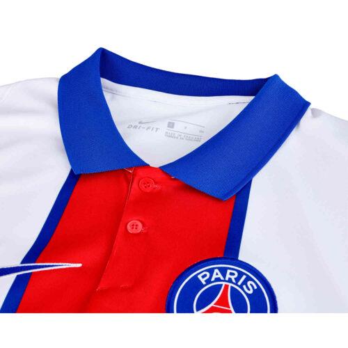 2020/21 Kids Nike Kylian Mbappe PSG Away Jersey