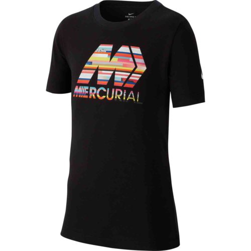 """Nike Kids Black CR7 """"The Stance"""" Tee – Level Up"""