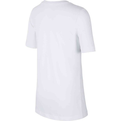 """Nike Kids White CR7 """"The Stance"""" Tee – Level Up"""