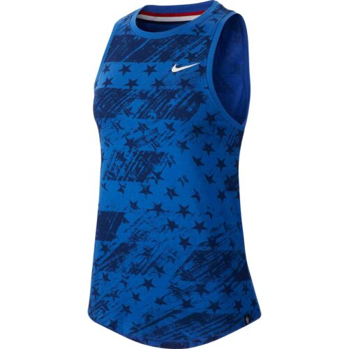 Womens Nike USWNT Preseason Tank – Varsity Royal