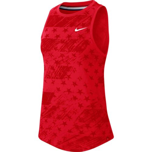 Womens Nike USWNT Preseason Tank – Speed Red