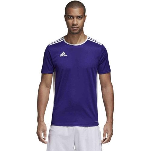 adidas Entrada 18 Jersey – Collegiate Purple