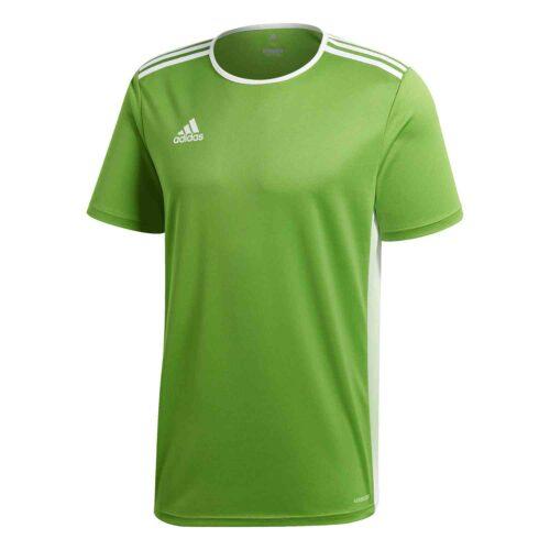 adidas Entrada 18 Jersey – Rave Green/White