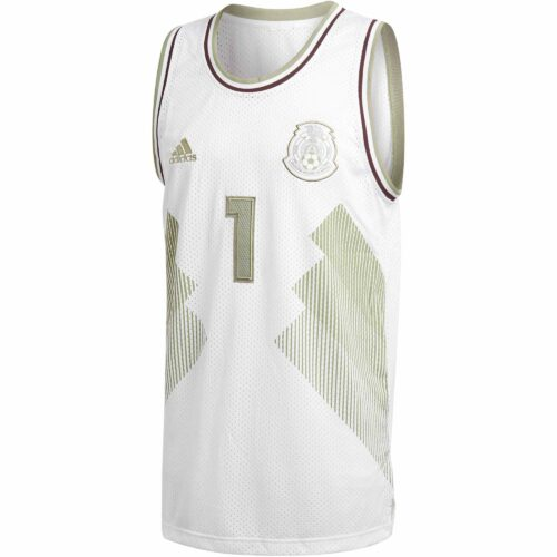 adidas Mexico Basketball Jersey 2018-19