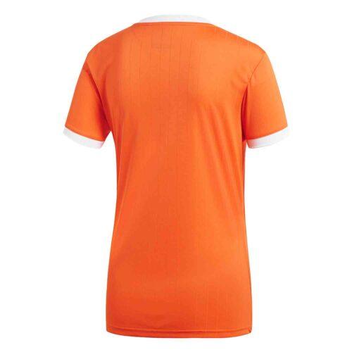 Womens adidas Tabela 18 Jersey – Orange/White