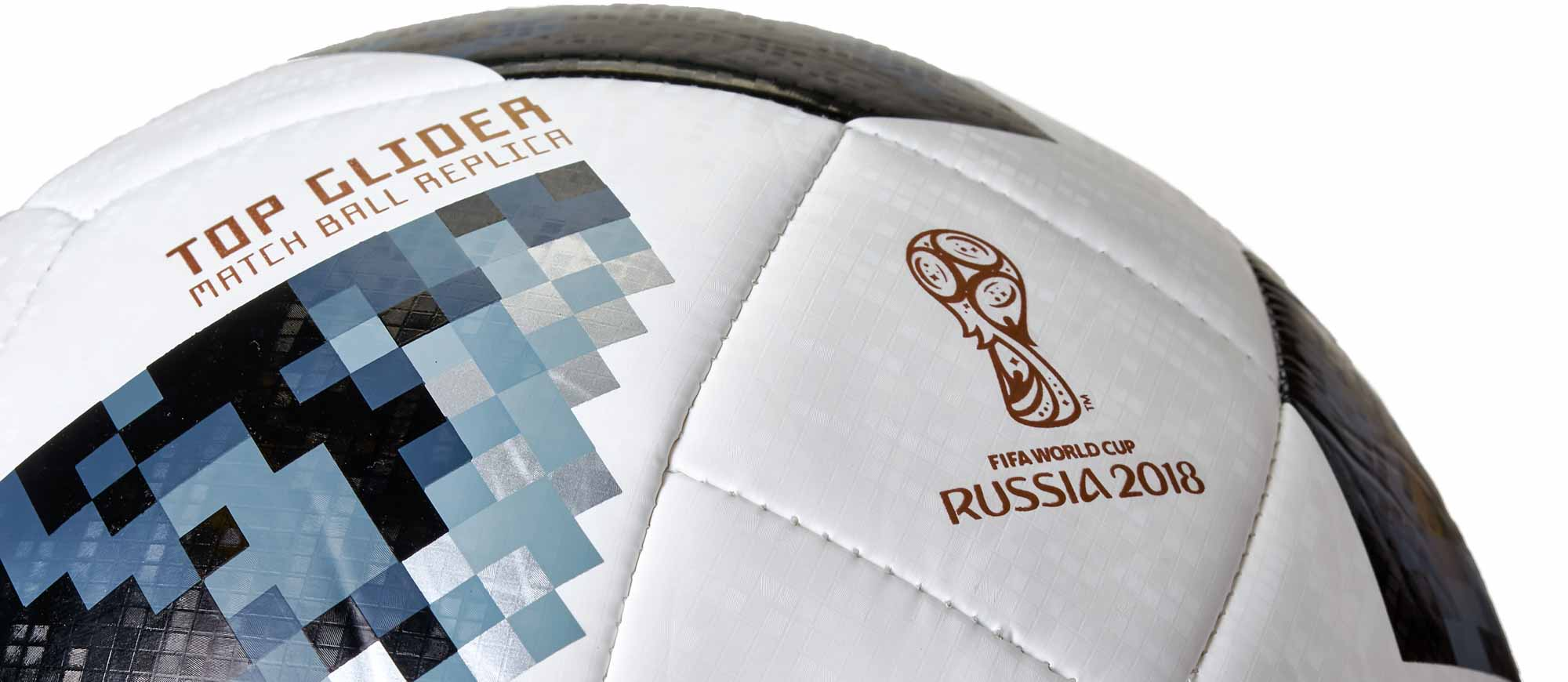 new product 53261 c3d51 adidas Telstar 18 World Cup Top Glider Soccer Ball – White Metallic Silver