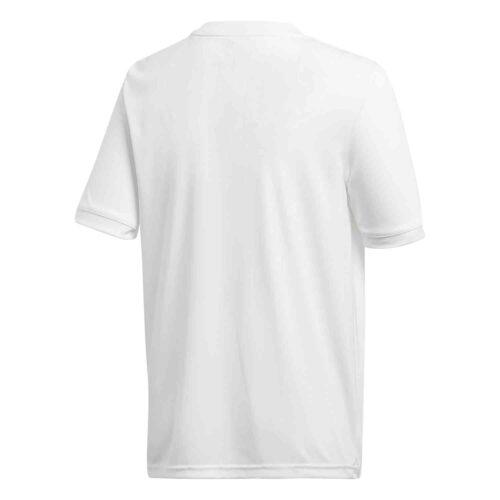 Kids adidas Tabela 18 Jersey – White/White
