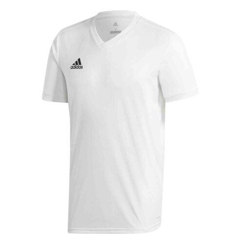 adidas Tabela 18 Jersey – White/White