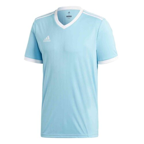 adidas Tabela 18 Jersey – Clear Blue/White