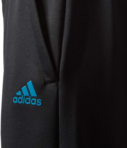 adidas Kids Real Madrid Tiro Pant – Black/Vivid Teal