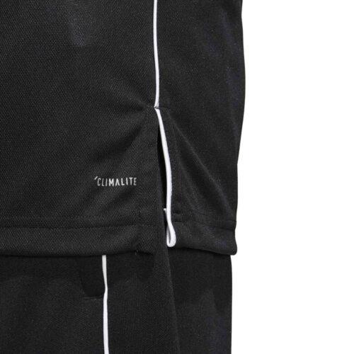 adidas Core 18 Polo – Black/White