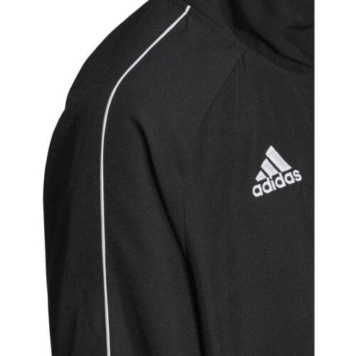 Kids adidas Core 18 Presentation Jacket – Black/White